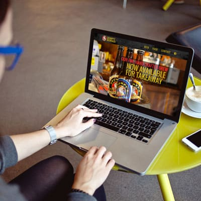 Grumpys Brewhaus website