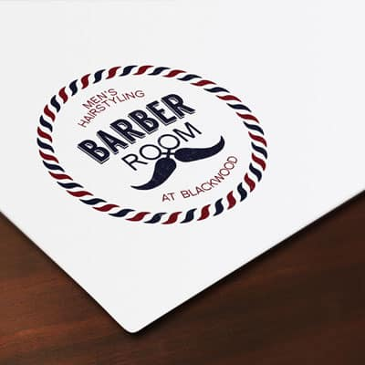 Barber Room logo
