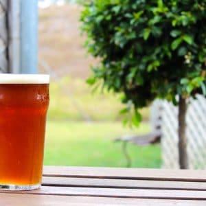 Beer in Garden