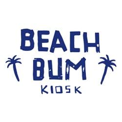 logo beach bum kiosk